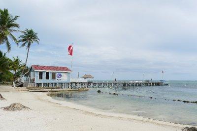 White Sands Dive Shop ligger rett ved siden av Las Terrazas
