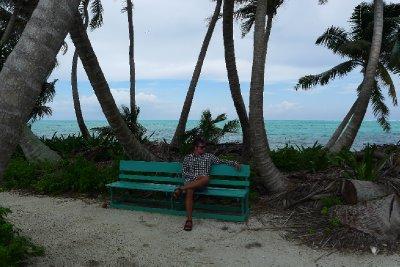 Herman som chillern i eksotiske omgivelser