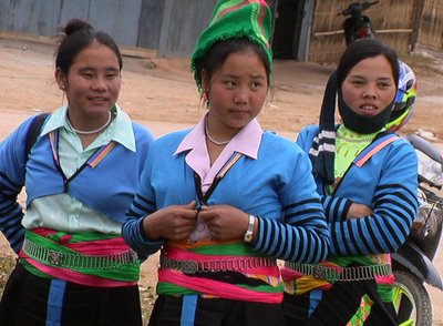 Hmong....the colourful highland beauties