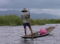 Leg Rowers of Inle