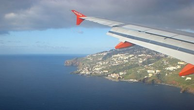 Arriving to Funchal, Madeira