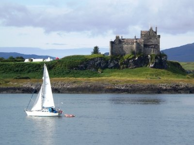 Castle in the Isle of Mull