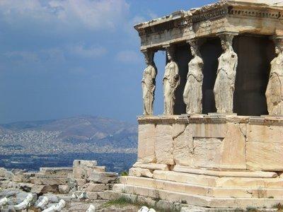 A temple inside the Acropolis site