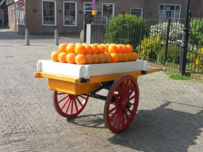 Cheese sale in Edam (what else?)