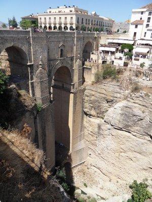 Incredible bridge in Ronda