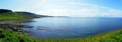 Duntlum bay, Skye