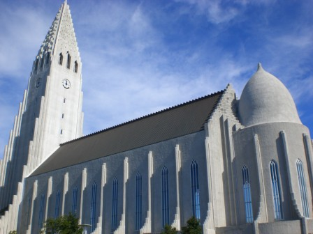 The wonderfull catedral of Reykjavik