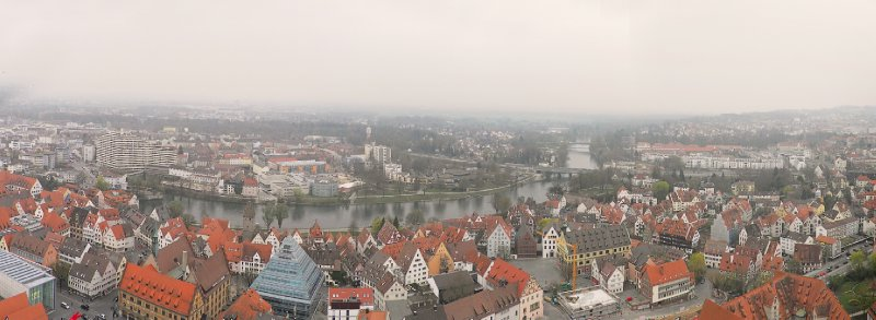 Ulm and the river Danube