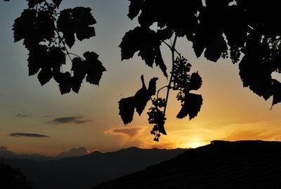 sunset in Lesten