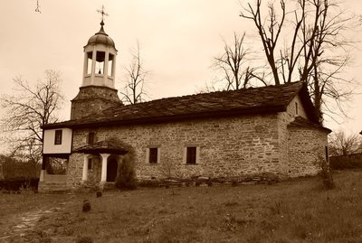 The old church in Bozenci village