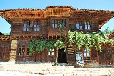Old house in Zeravna