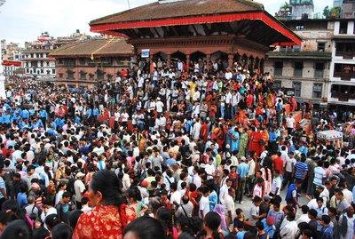 during Indra Jatra