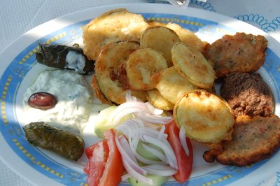 Yummy Greek food!