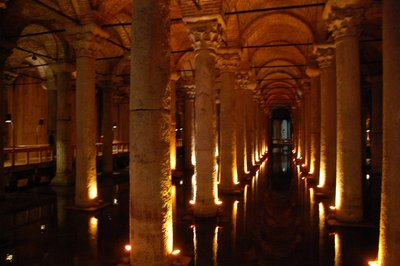 All is peaceful and sublime in the Basilica Cistern
