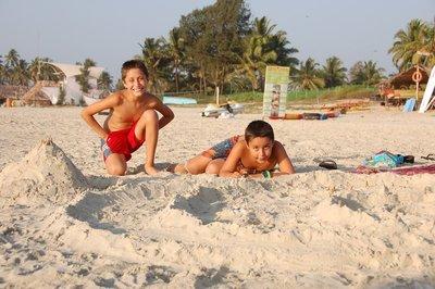Sand castle engineers