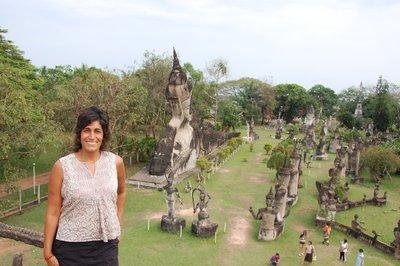 Buddha park in Vientiane (Xieng Khuan)