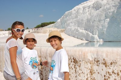 Pammukale (Cotton Mountain)