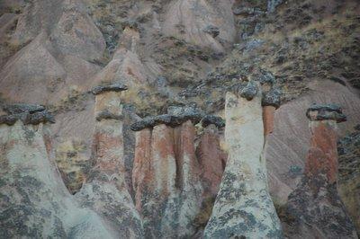 The magical pillars of Cappadocia