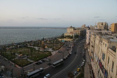 the view fro, the hotel, alexandria