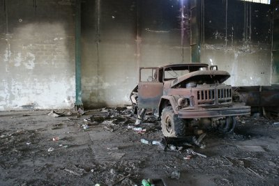 Army Warehouse, Bayda, Libya