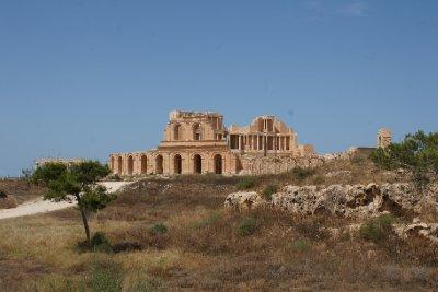The Theatre, Sabratha, Libya