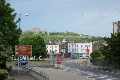 Dover - Castle in background