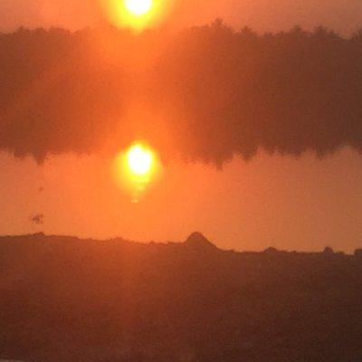 Sunset nr Mysore/Mysuru