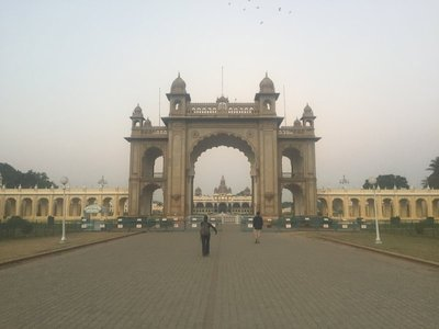 The Palace at Mysore