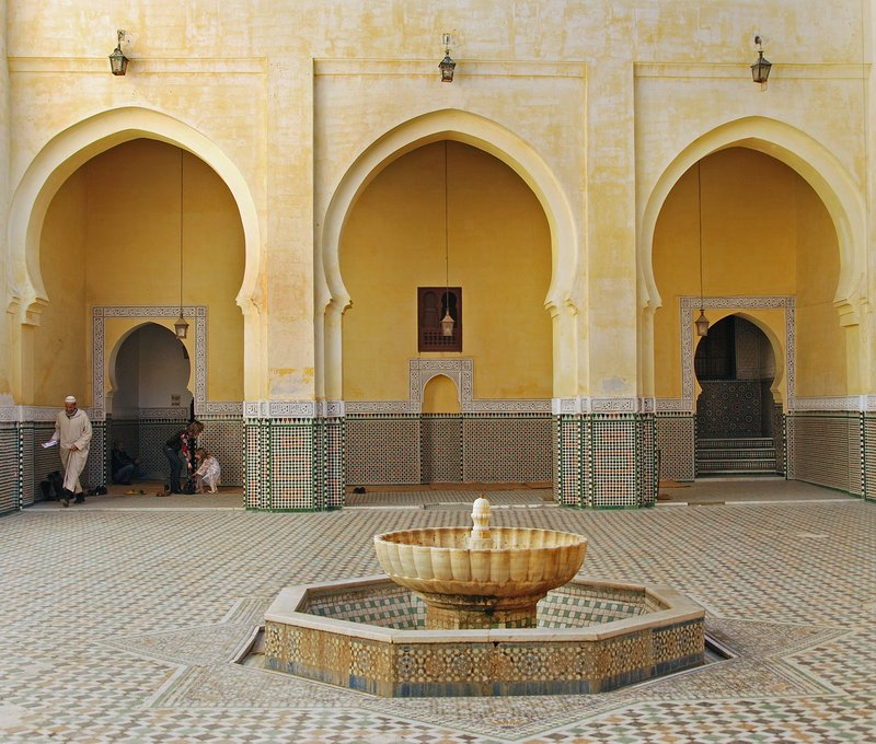 Moroccan Courtyard