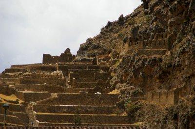 Les ruines de Ollantaytambo