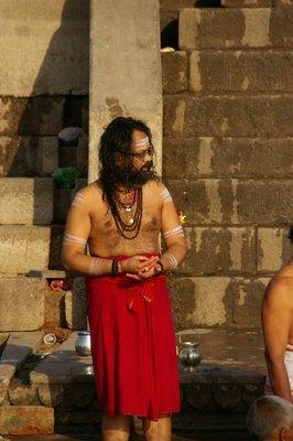Holy baba - homme religieu hindou