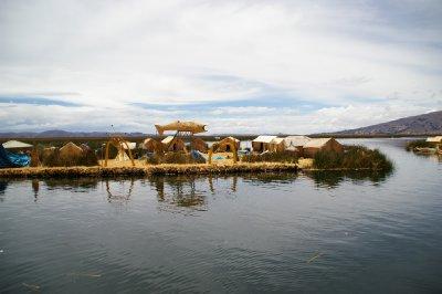 Iles flottantes Uros