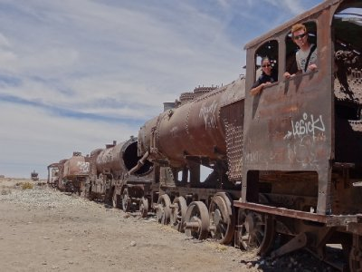 Cimetière de train - Uyuni