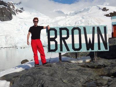 La station scientifique Argentine de Brown à Paradise Bay