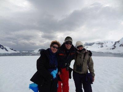 Les 3 aventuriers sur Danco Island