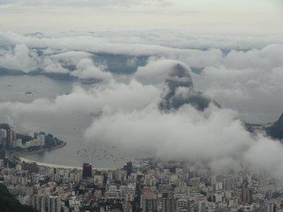 La vue sur Rio et le Pain de sucre