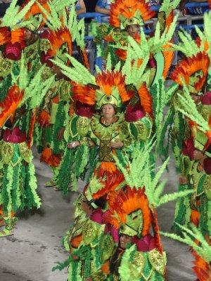 Parade du carnaval de Rio