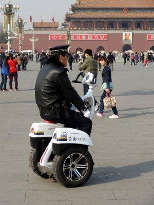 Sécurité omniprésente sur la place Tiananmen