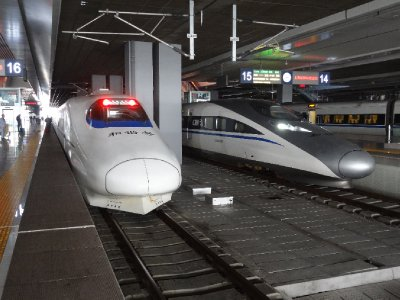 Les High speed trains chinois