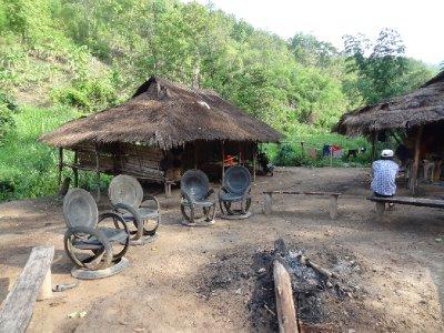 Le village dans lequel nous avons dormi