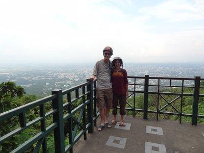 Sur la coline de Doi Suthep