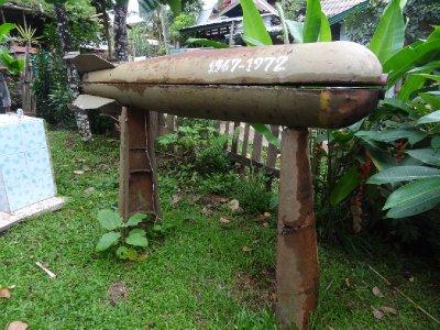 Souvenir américain au Laos ....