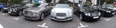 Tu veux une Bentley?