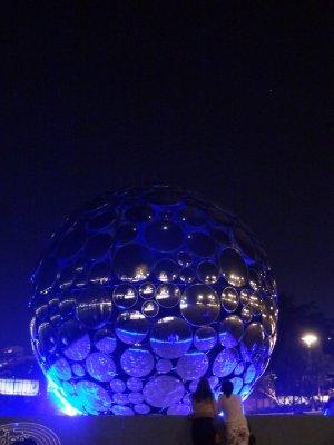 Brisbane Southbank de nuit