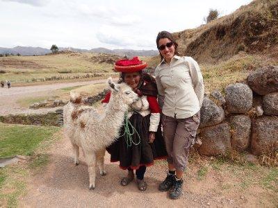 Le Lama, la vieille dame et Fiona