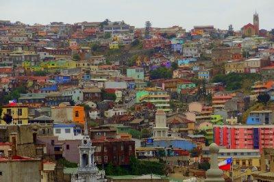 Les couleurs de Valparaiso