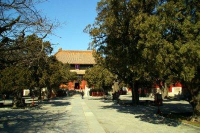 Confucius Temple - Si vous voulez être tranquille ....