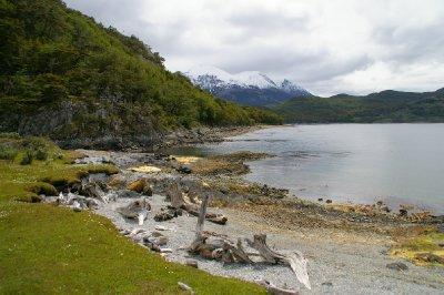 Côte du parc national Tierra del Fuego