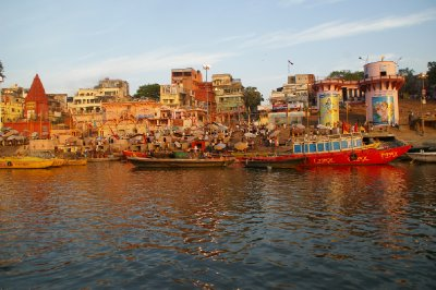 Rives du Gange - Varanasi