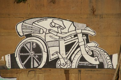 Tag d'un cycle-rickshaw